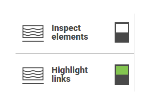 Inspect elements